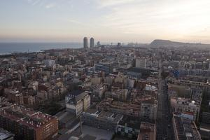 Barcelona from the Top by Miguel Pereira