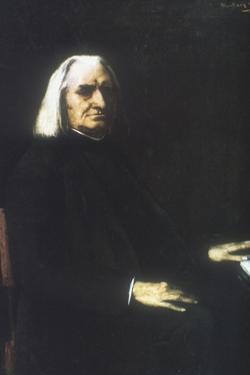 Franz Liszt, 1886 by Mihaly Munkacsy