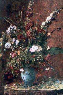 Great Flower Still Life, 1881 by Mihaly Munkacsy