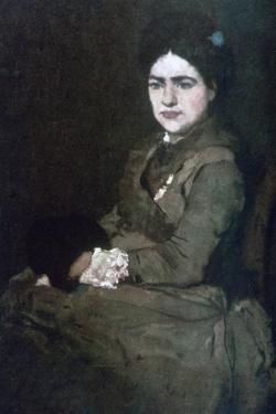 Mrs Munkacsy, C1864-1900 by Mihaly Munkacsy