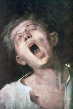 Yawning Apprentice, 1868-1869 by Mihaly Munkacsy