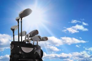 Close-Up of a Golf Bag by mikdam