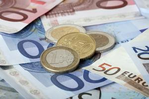 Colorful Euro Banknotes by mikdam