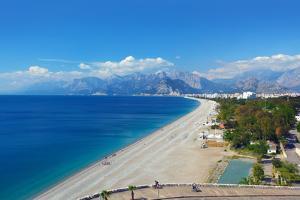 Konyaalti Beach, Antalya by mikdam