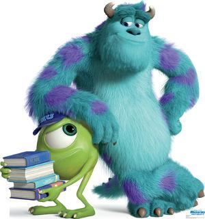 Mike and Sulley - Disney Pixar Monsters University Lifesize Cardboard Cutout
