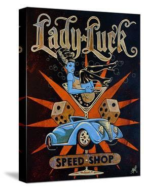 Lady Luck Speed Shop by Mike Bell