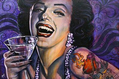 Marilyn Noir by Mike Bell