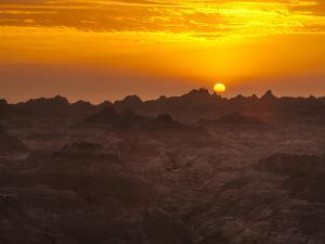 Alien World in Badlands National Park by Mike Cavaroc
