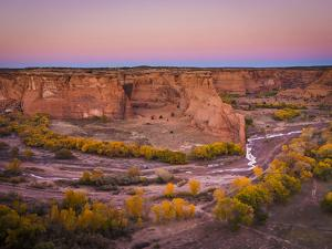 Fall Colors in Canyon De Chelly National Monument by Mike Cavaroc