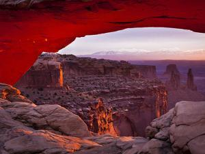 Mesa Arch in Canyonlands National Park by Mike Cavaroc