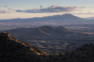 The Huachuca Mountains In Southern Arizona, Coronado National Memorial by Mike Cavaroc