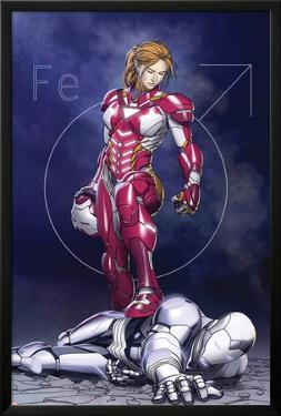 Superior Iron Man #9 Cover Featuring Rescue, Pepper Potts, Superior Iron Man by Mike Choi