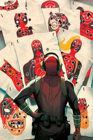 Deadpool Kills Deadpool #1 Cover: Deadpool by Mike Del Mundo