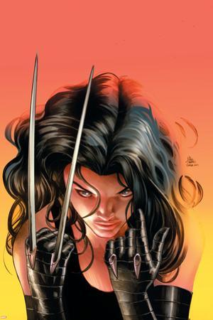 Avengers Arena #14 Cover: X-23 by Mike Deodato