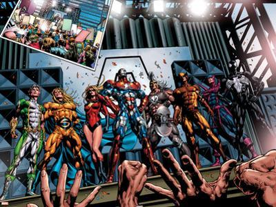 Dark Avengers No.1 Group: Marvel Boy by Mike Deodato