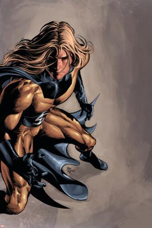 Dark Avengers No.13 Cover: Sentry by Mike Deodato