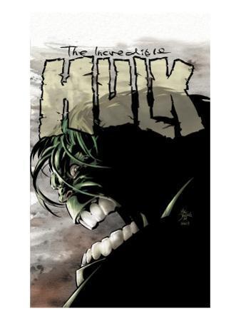 Incredible Hulk No.65 Cover: Hulk by Mike Deodato