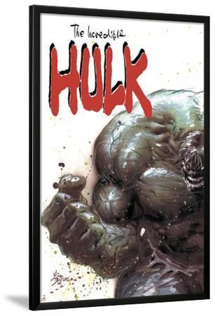 Incredible Hulk No.67 Cover: Hulk Fighting by Mike Deodato