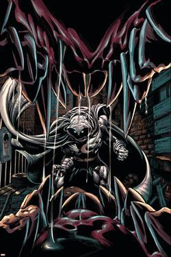 Moon Knight No.20 Cover: Moon Knight by Mike Deodato