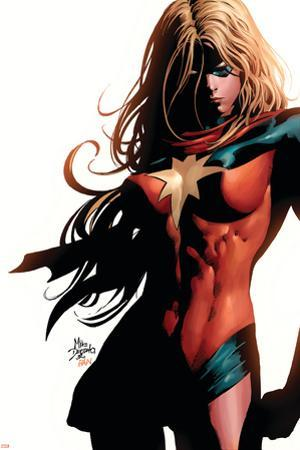 Ms. Marvel No.39 Cover: Ms. Marvel by Mike Deodato