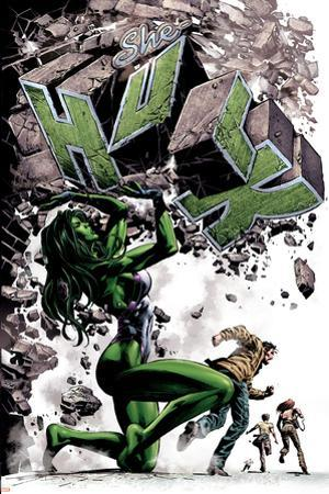 She-Hulk No.24 Cover: She-Hulk