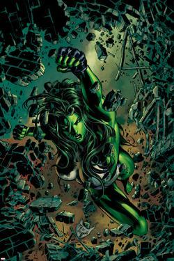 She-Hulk No.27 Cover: She-Hulk by Mike Deodato