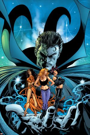 Witches No.3 Cover: Dr. Strange, Kale, Jennifer, Topaz and Satana by Mike Deodato