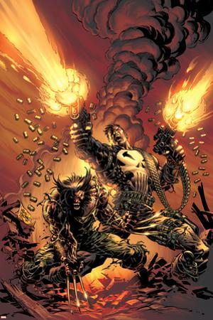 Wolverine Punisher No.1 Cover: Wolverine and Punisher