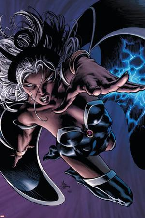 X-Men: Worlds Apart No.3 Cover: Storm by Mike Deodato