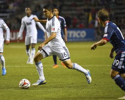 Jul 30, 2014 - MLS: Vancouver Whitecaps vs Chicago Fire - Harrison Shipp, Johnny Leveron