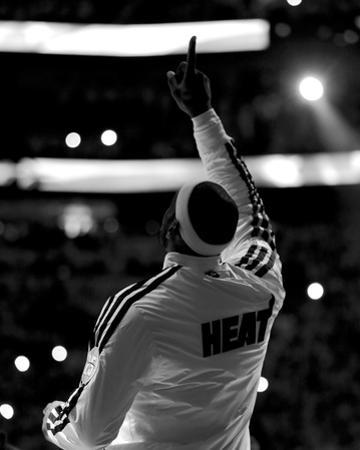 2013 NBA Finals Game 7: Jun 20, San Antonio Spurs vs Miami Heat - LeBron James by Mike Ehrmann