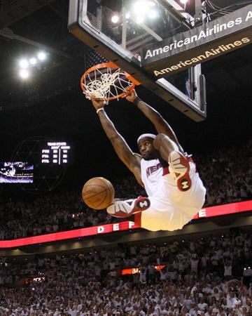 Boston Celtics v Miami Heat - Game Five, Miami, FL - MAY 11: LeBron James by Mike Ehrmann