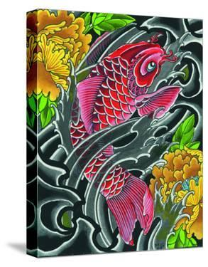 Red Koi by Mike Godfrey