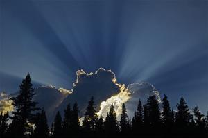God Rays by Mike Grandmaison