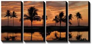 Tropical Sunsets II by Mike Jones