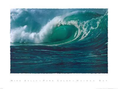 Waimea Bay by Mike Kelly