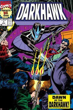 War Of Kings: Darkhawk No.1 Cover: Darkhawk by Mike Manley