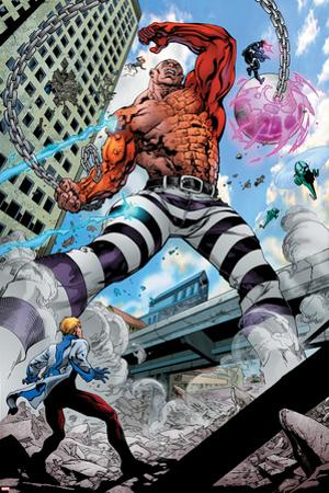 Avengers Academy No.7: Absorbing Man Fighting