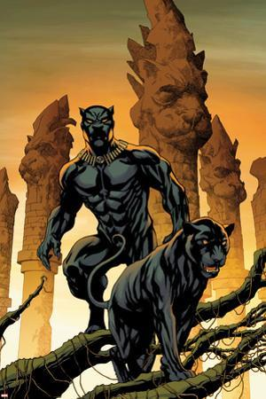 Black Panther No. 1 Cover Art