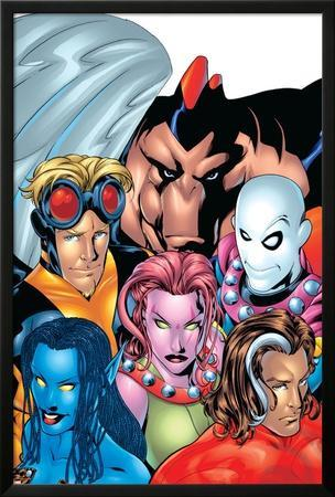 Exiles No.1 Cover: Blink, Morph, Thunderbird, Mimic, Magnus and Nocturne