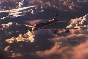 Boeing 747 by Mike Miller