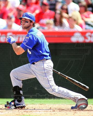 Mike Moustakas 2012 Action