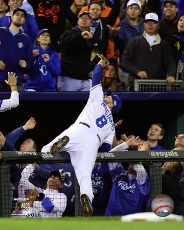 Mike Moustakas Game 3 of the 2014 American League Championship Series Action