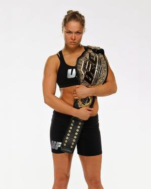 UFC 168: Dec 28, 2013 - Ronda Rousey by Mike Roach