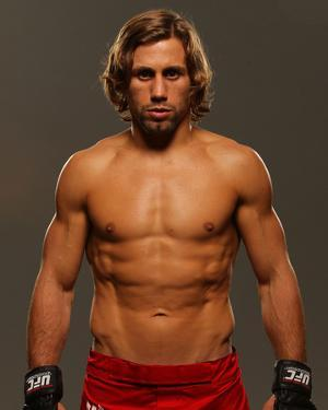 UFC Fighter Portraits: Urijah Faber by Mike Roach
