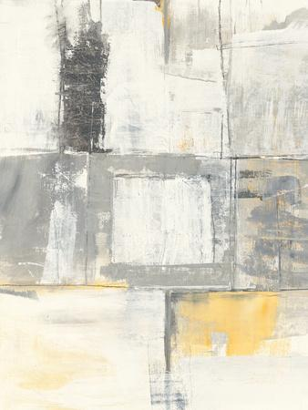 Gray and Yellow Blocks II White
