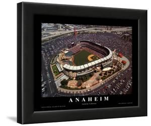 Anaheim: Edison Field, Angels Baseball, California by Mike Smith