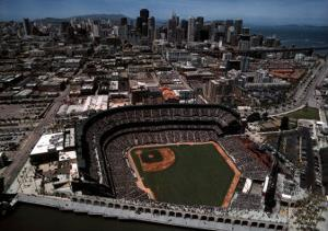 AT&T Park - San Francisco, California by Mike Smith