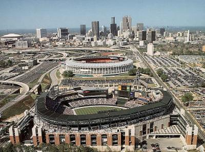Atlanta Braves Turner Field First Game March 29, c.1997 Sports by Mike Smith