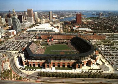 Baltimore - First Orioles day Game by Mike Smith